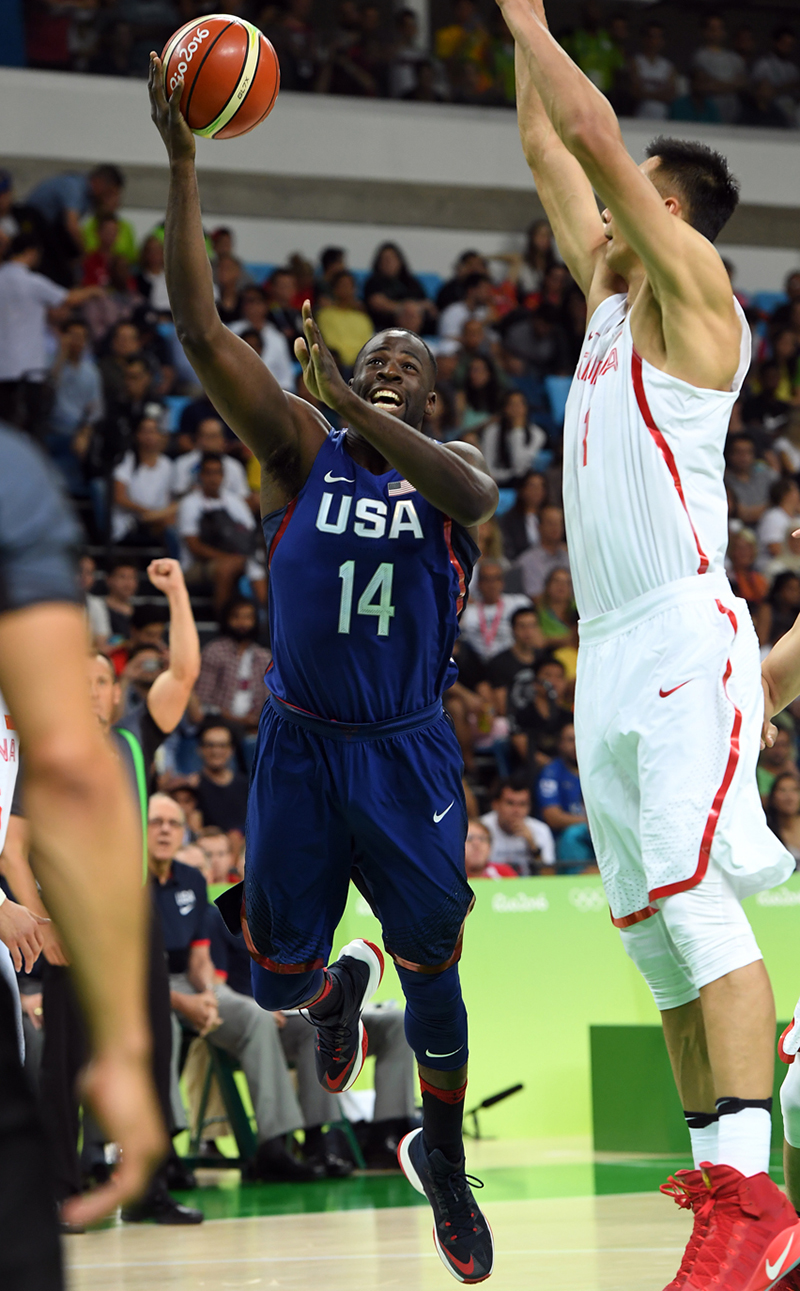 Draymond Green finished with three points, four rebounds and three assists.