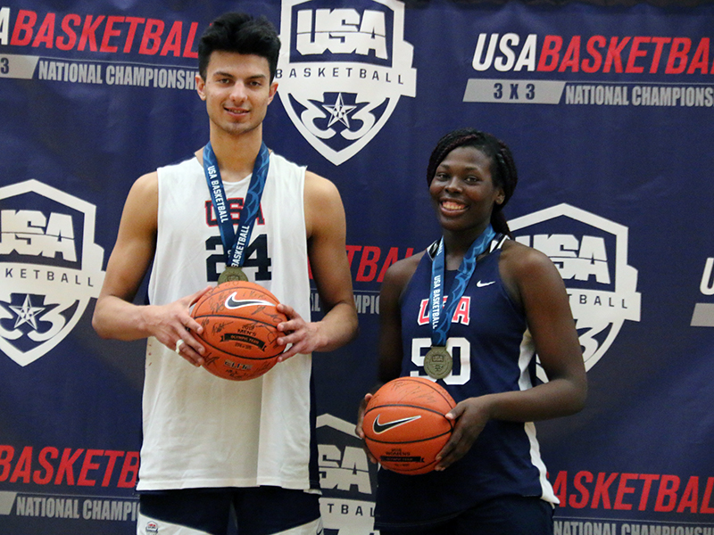 2019 3x3 U18 National Championship MVPs