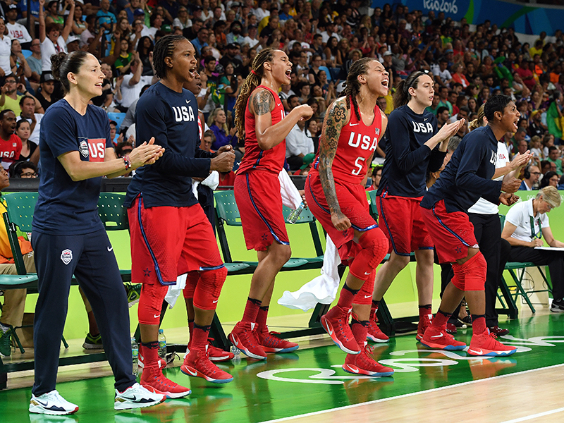 There was plenty of emotion on the bench in the semifinal contest against France.