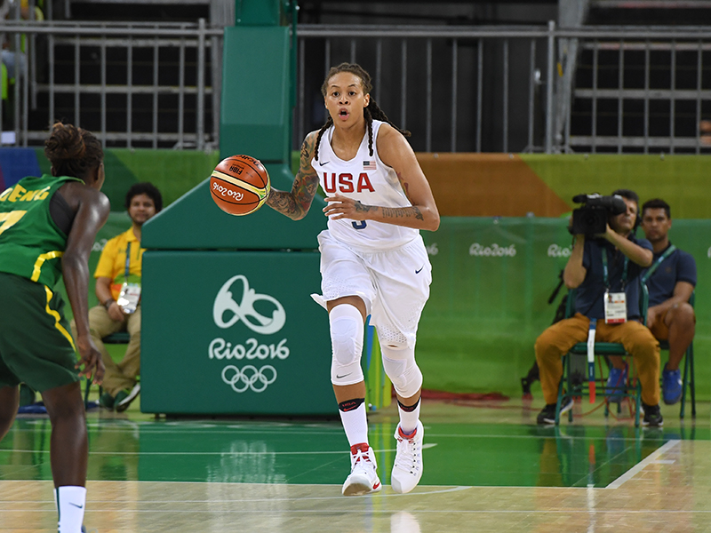 Seimone Augustus had four points, four rebounds and four assists.