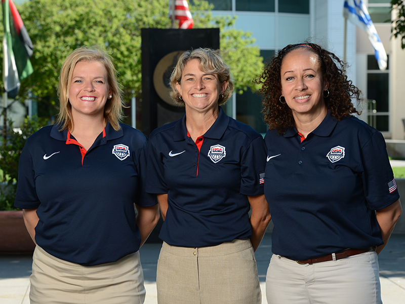 2016 USA Women's U17 World Championship Team Coaches