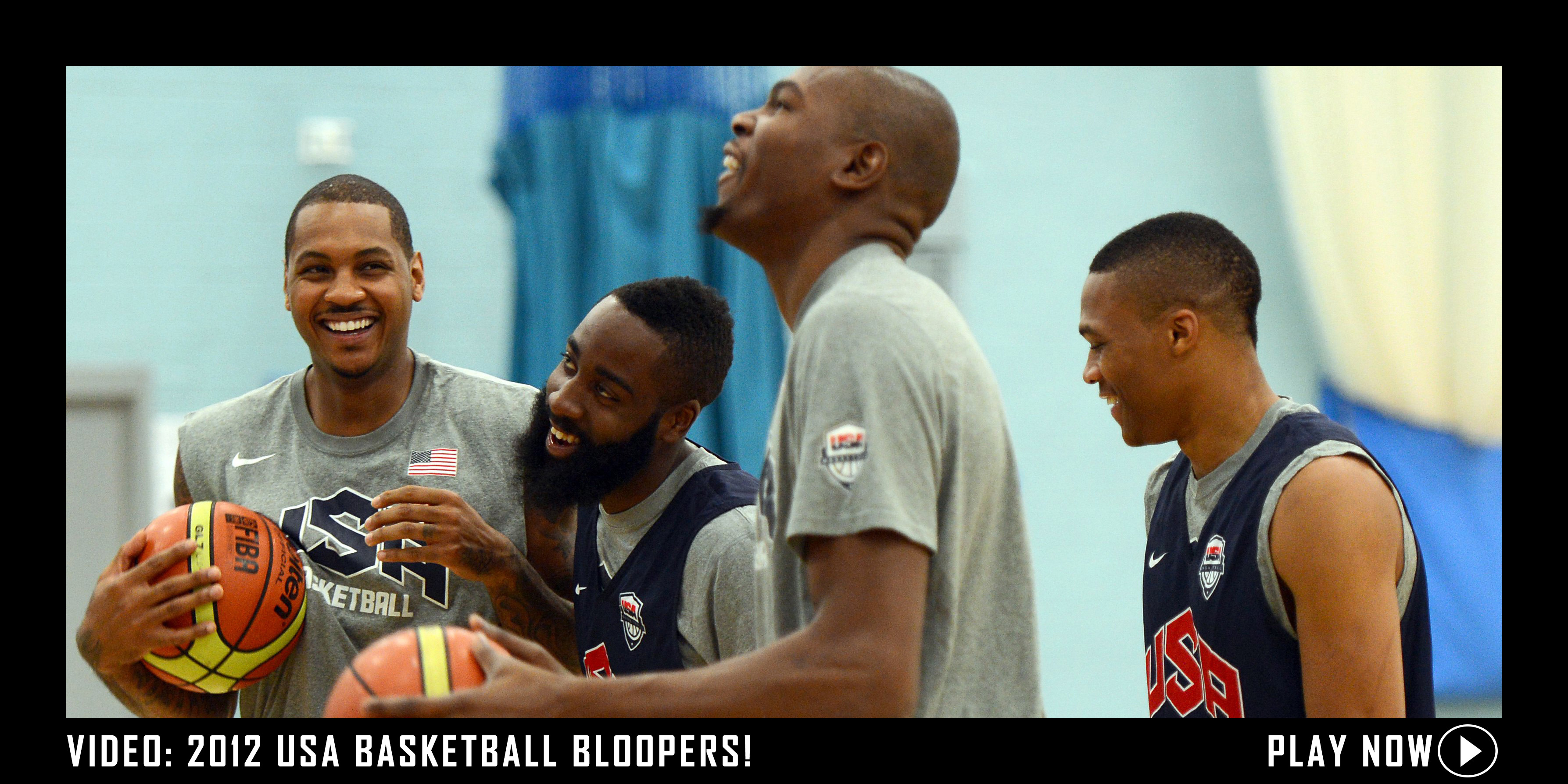 2012 USA Basketball Bloopers.