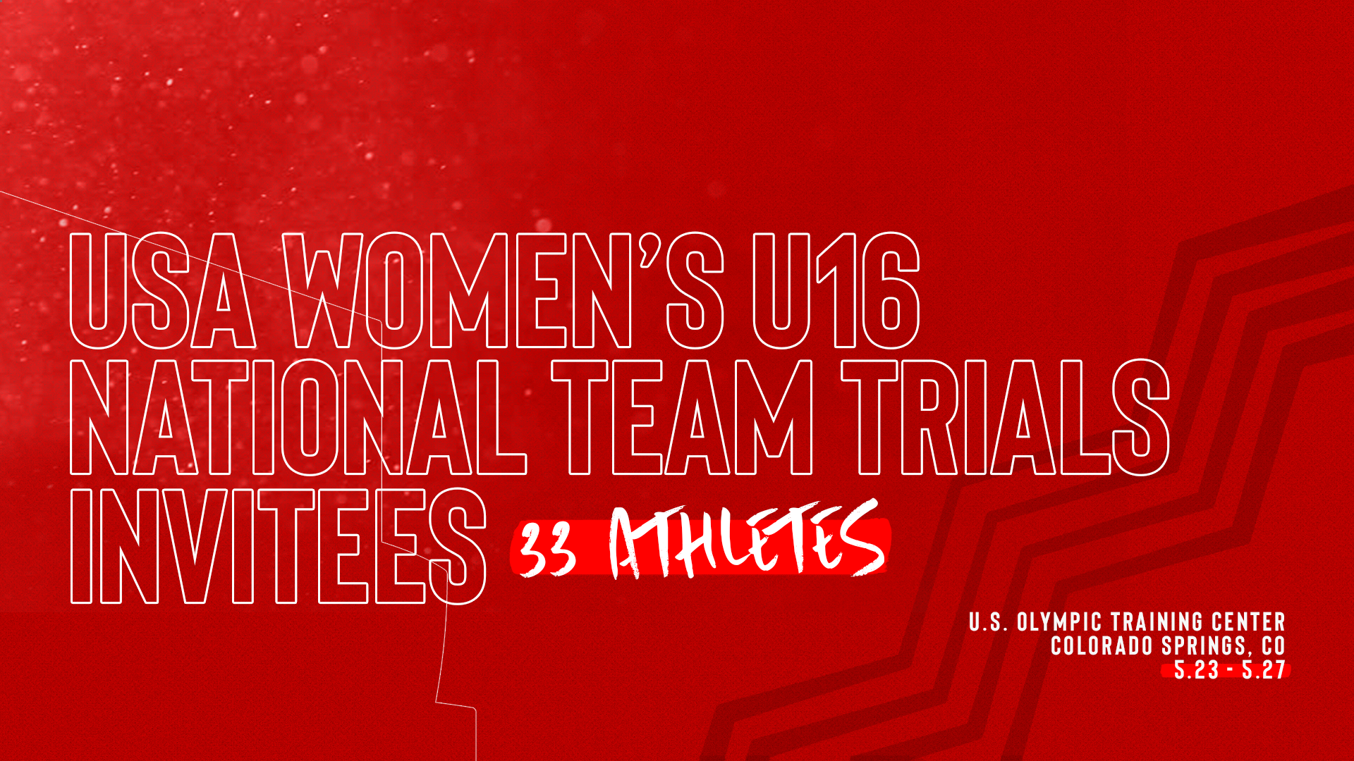 2019 USA Women's U16 Trials Invitees