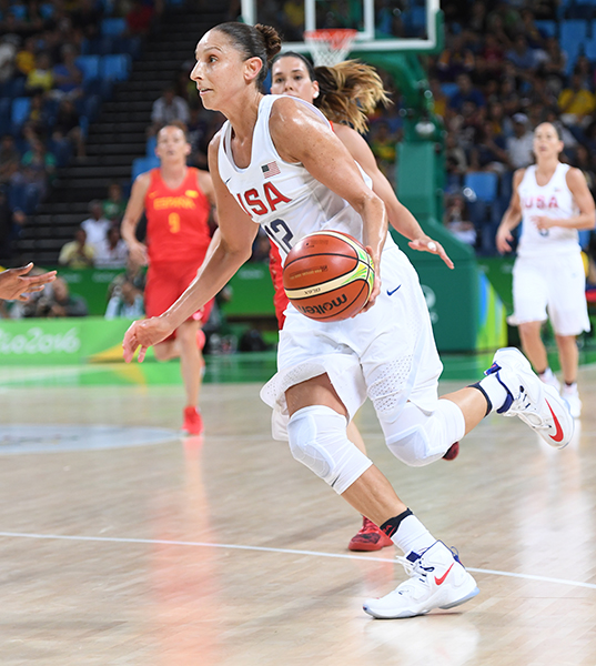 Diana Taurasi earned her fourth Olympic gold medal in style - with 17 points on 5-of-7 shooting from 3-point, to go with three rebounds, three assists and two steals.