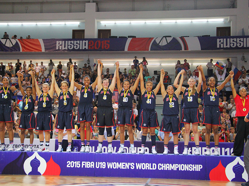 U19 Women Win 2015 Gold