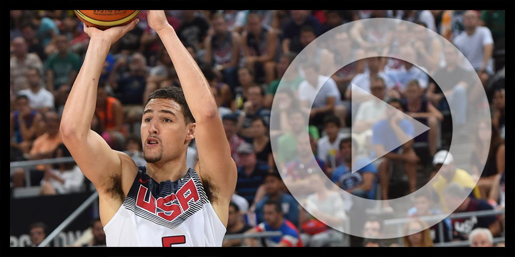 Klay Thompson: 2015 Foot Locker 3-Point Contestant