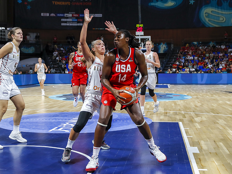 FIBA World Cup Semifinals: USA 93, Belgium 77 (9/29/18)
