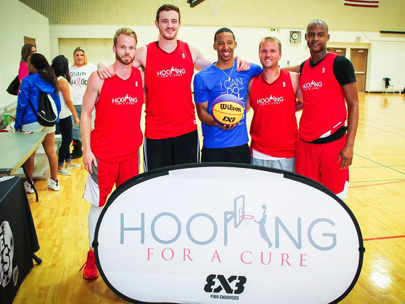 T.J. Bullock Hooping For A Cure