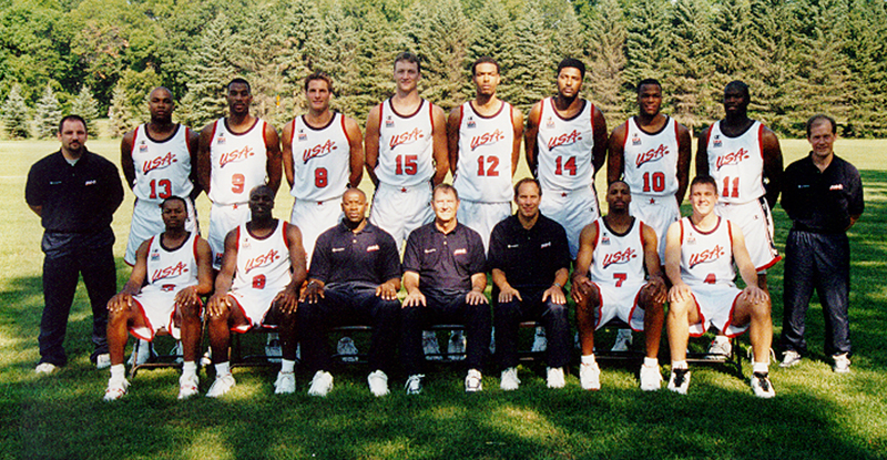 1999 USA Men's Pan American Games Team