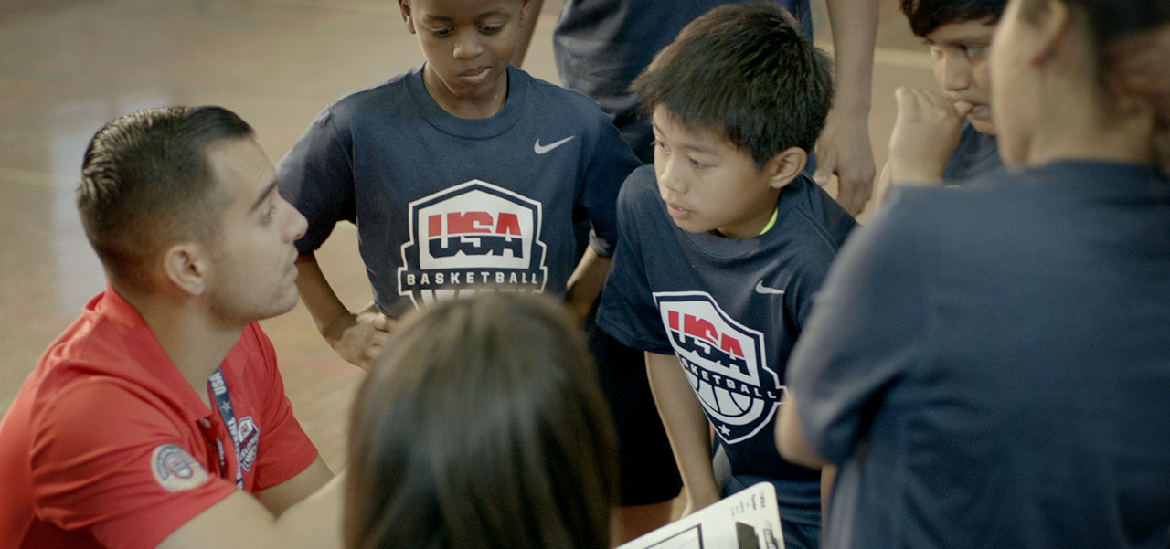 Coaching the right way with USA Basketball