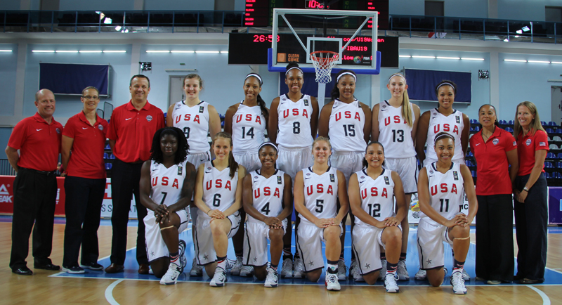 2015 USA Basketball Women's U19 World Championship Team
