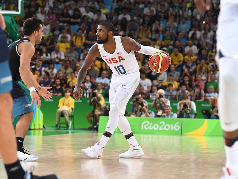 Kyrie Irving had 11 points, four rebounds and three assists.