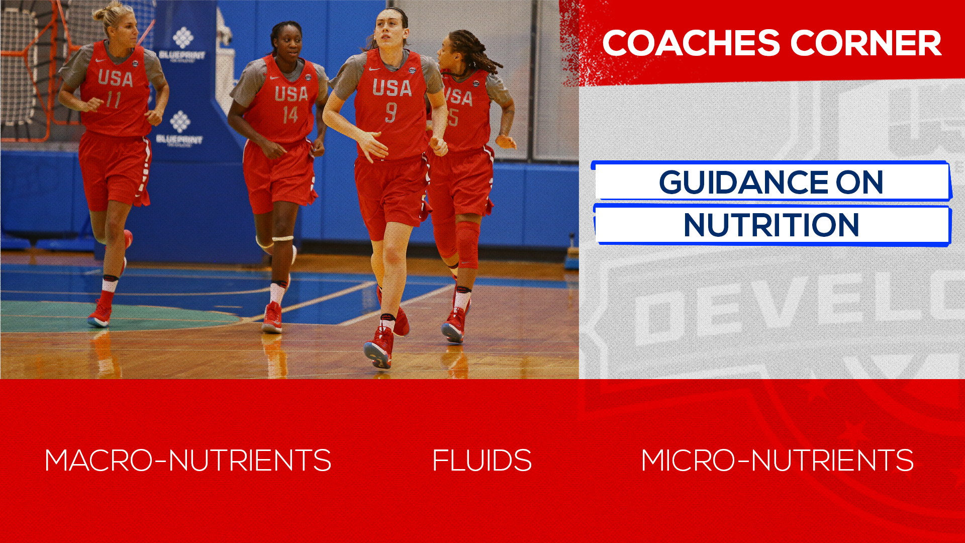Coaches Corner: Nutrition