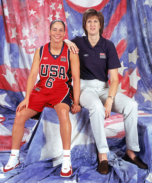 Sue Bird, Anne Donovan