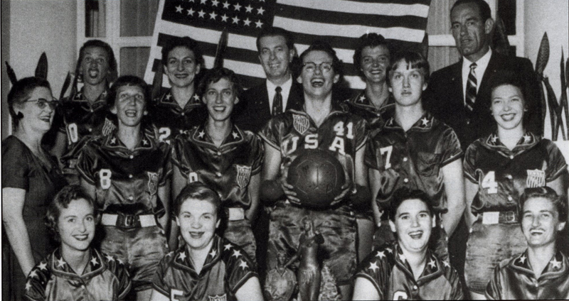 1957 USA Women's World Championship Team
