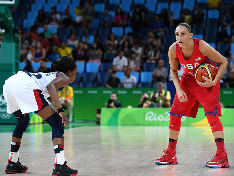 Diana Taurasi was the game's high scorer after pouring in 18 points to go with five rebounds and four assists.