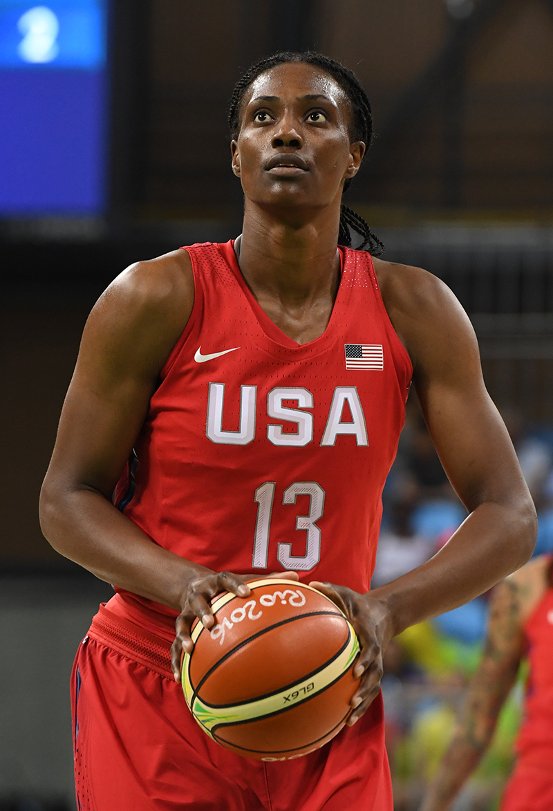 Sylvia Fowles was active around the basket, producing 13 points.