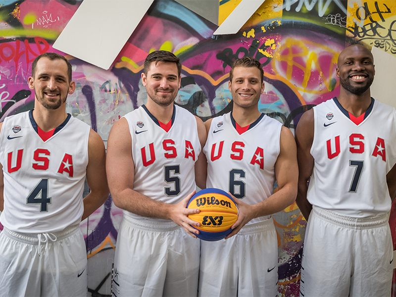 2017 USA 3x3 World Cup Team