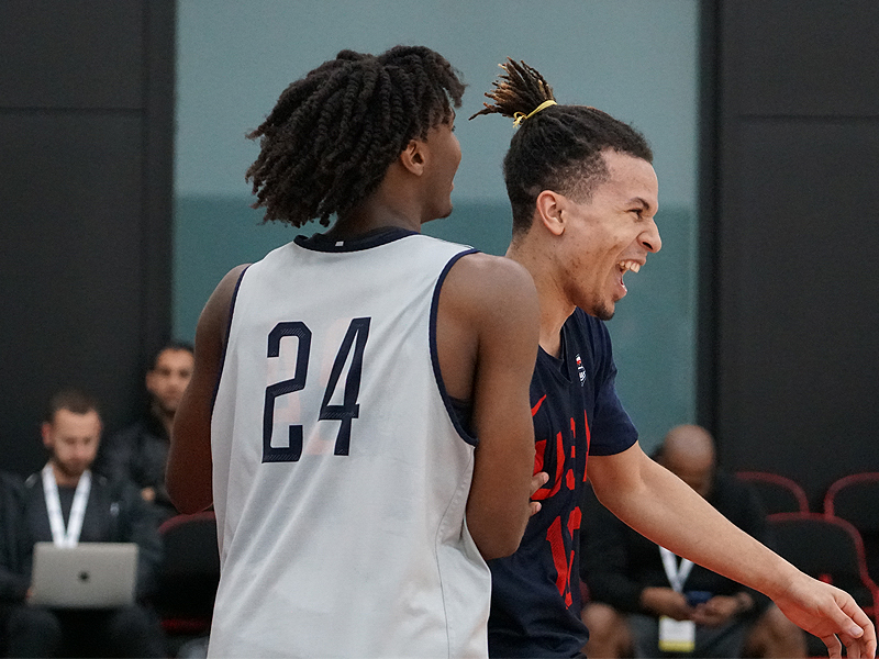 Tyrese Maxey and Cole Anthony