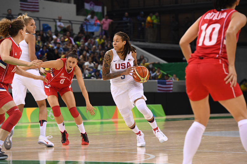 Seimone Augustus did a bit of everything with four points, four rebounds and five assists.