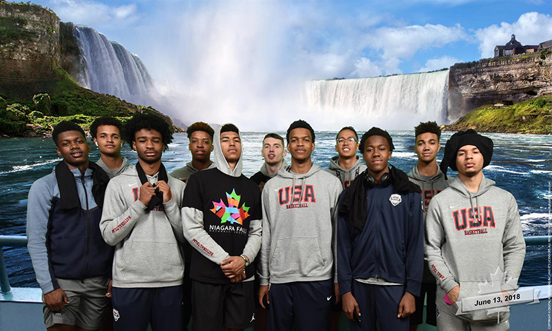 USA MU18 at Niagara Falls