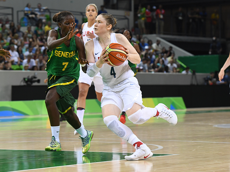 Lindsay Whalen had eight points and three assists.