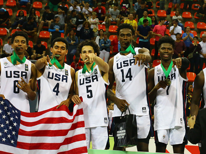 The USA Men's U16 National Team is GOLDEN!!!!