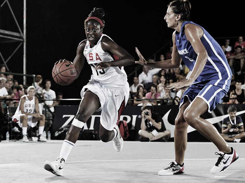 Chiney Ogwumike, who played for Stanford University and is a member of the Connecticut Sun, won three gold medals playing for USA Basketball, including the 2012 FIBA 3x3 World Cup gold.