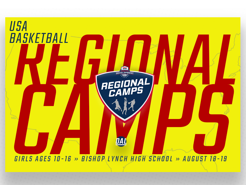 USA Basketball Dallas Girls Regional Camp
