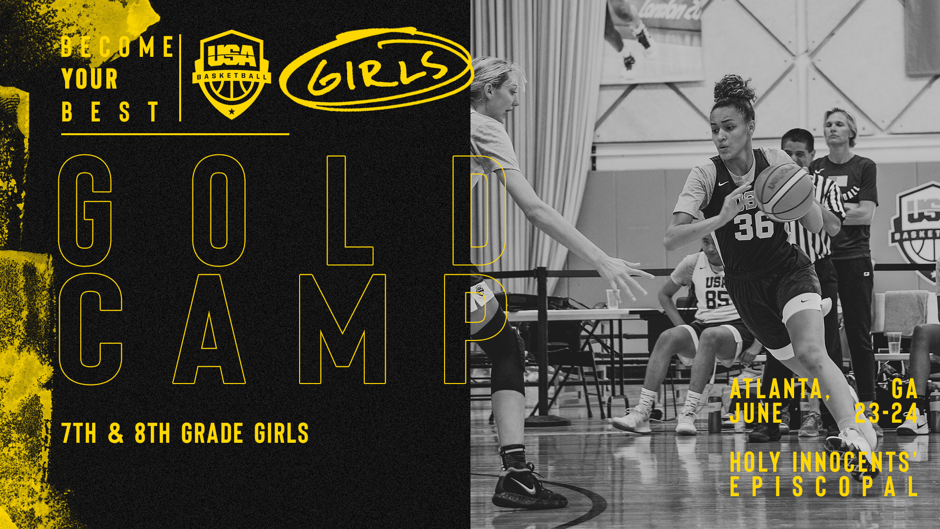GIRLS GOLD CAMP