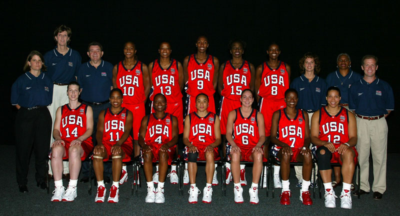 2002 USA Women's World Championship Team