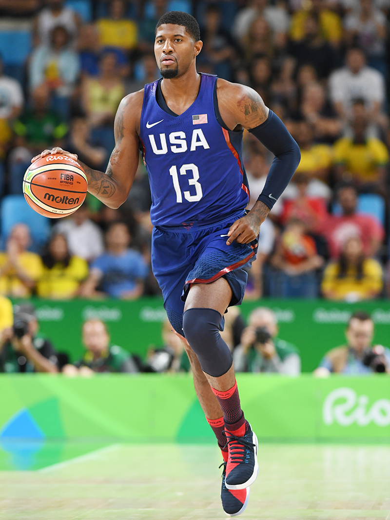 Paul George scored 15 points in his Olympic debut.