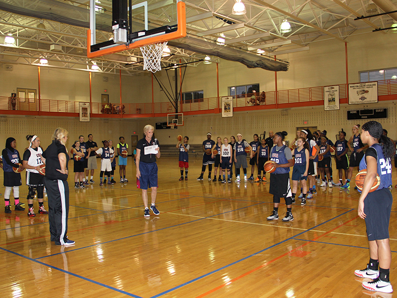 Girls Regional Skills Camp