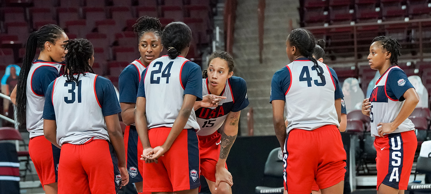 2021 USA Basketball Women's National Team