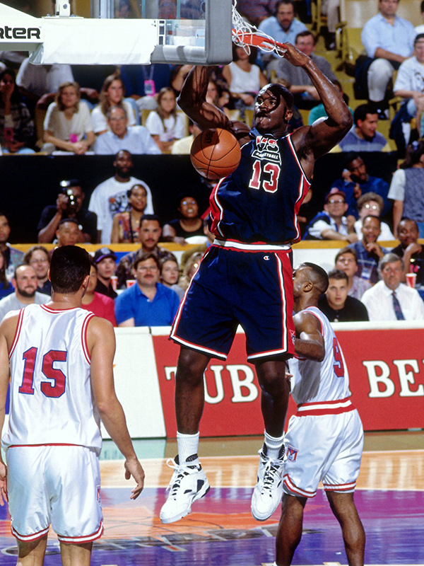 11 1994 mwc shaquille oneal GettyImages 103750182jpg