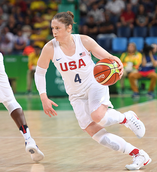 Lindsay Whalen had 17 points, four rebounds and six assists in the gold medal game.