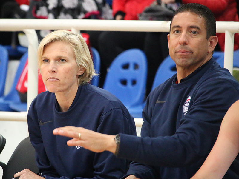 USA Women's U16 Team Assistants