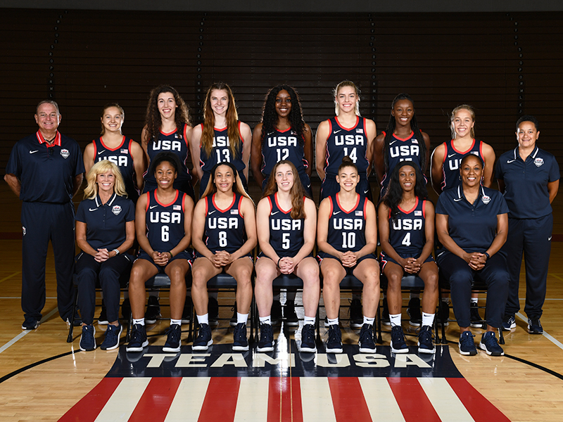 2019 U.S. Pan American Games Women's Basketball Team