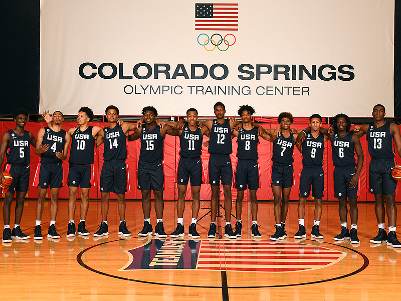 2019 USA Men's World Cup Team