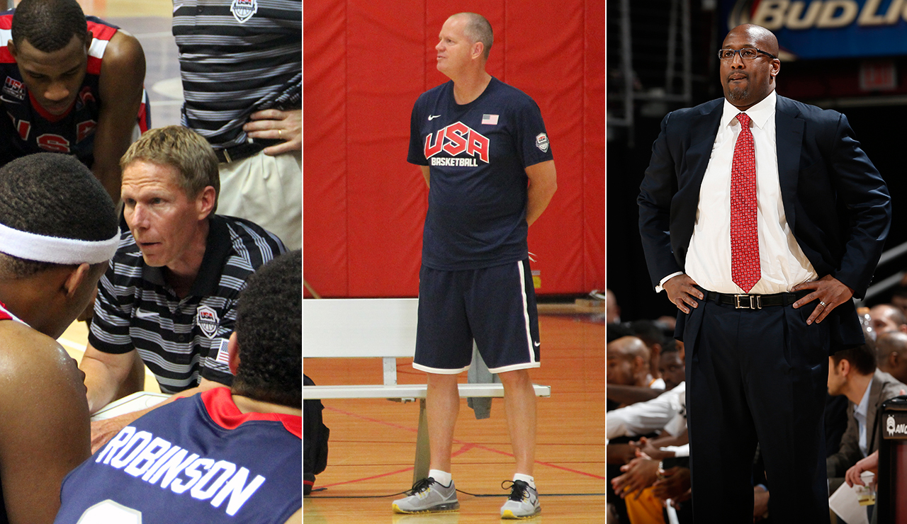 U.S. Men's Pan American Games Basketball Coaches