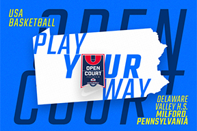 Delaware Valley H.S. PA Open Court