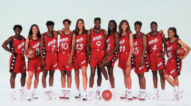 1995-96 USA Basketball Women's National Team