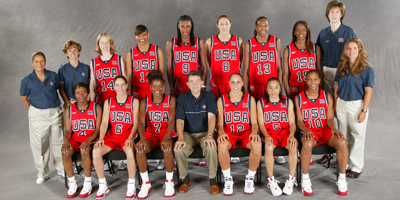 2004 U.S. Olympic Women's Basketball Team
