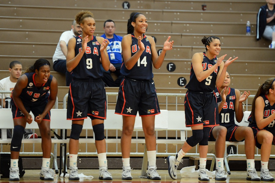 The USA Bench Into Game
