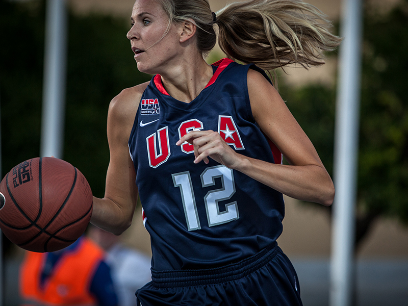 A 2001 USA U19 World Championship bronze medalist, 2003 USA Pan American Games silver medalist and former University of Connecticut Husky, Ann Strother struck gold with the 2012 USA 3x3 World Championship Team.