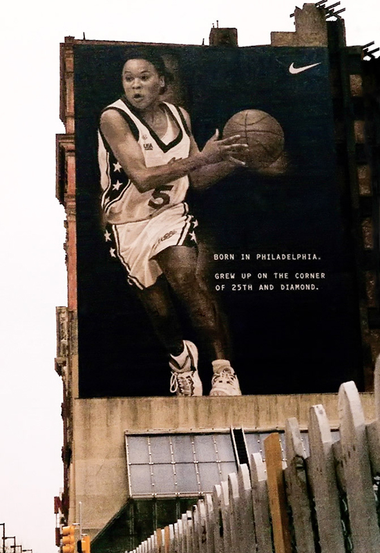 13 1996 SISTERHOOD OF HOOP DAWN STALEY MURAL DEDICATION 1jpg