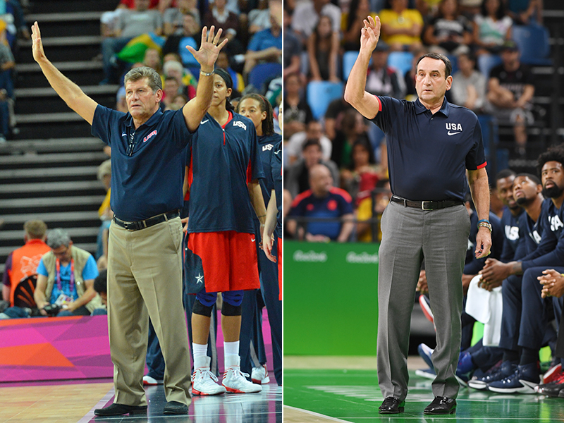 2016 USA Basketball Co-National Coaches of the Year