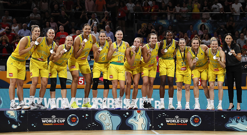 2018 FIBA World Cup Silver Medalists