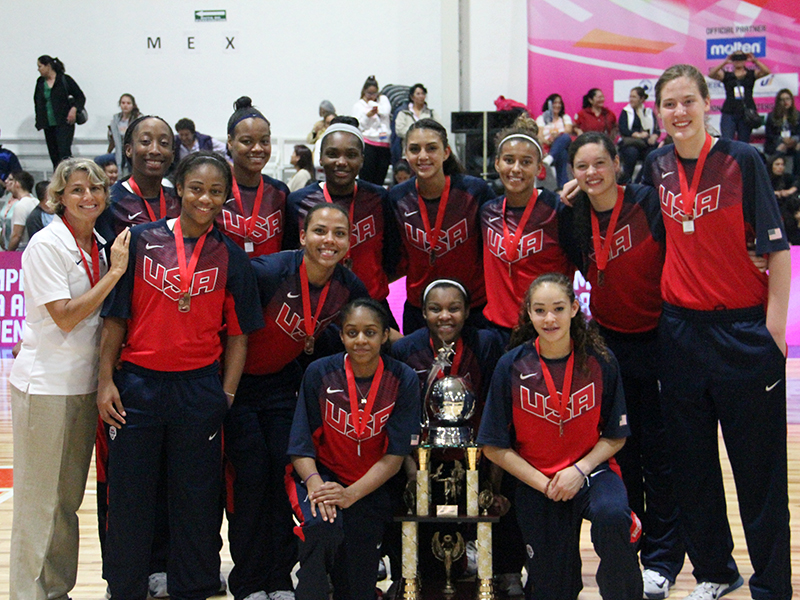 USA U16 Women Win Bronze Medal