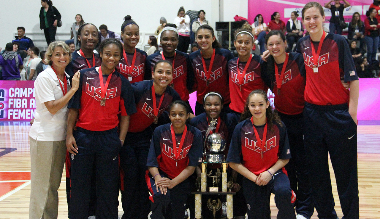 USA U16 Women Win Bronze